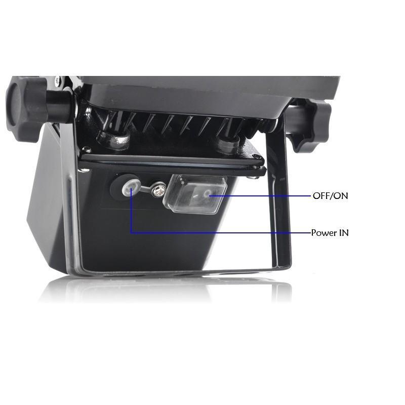 Мощный портативный автономный водонепроницаемый фонарь, 900 Лм 190458
