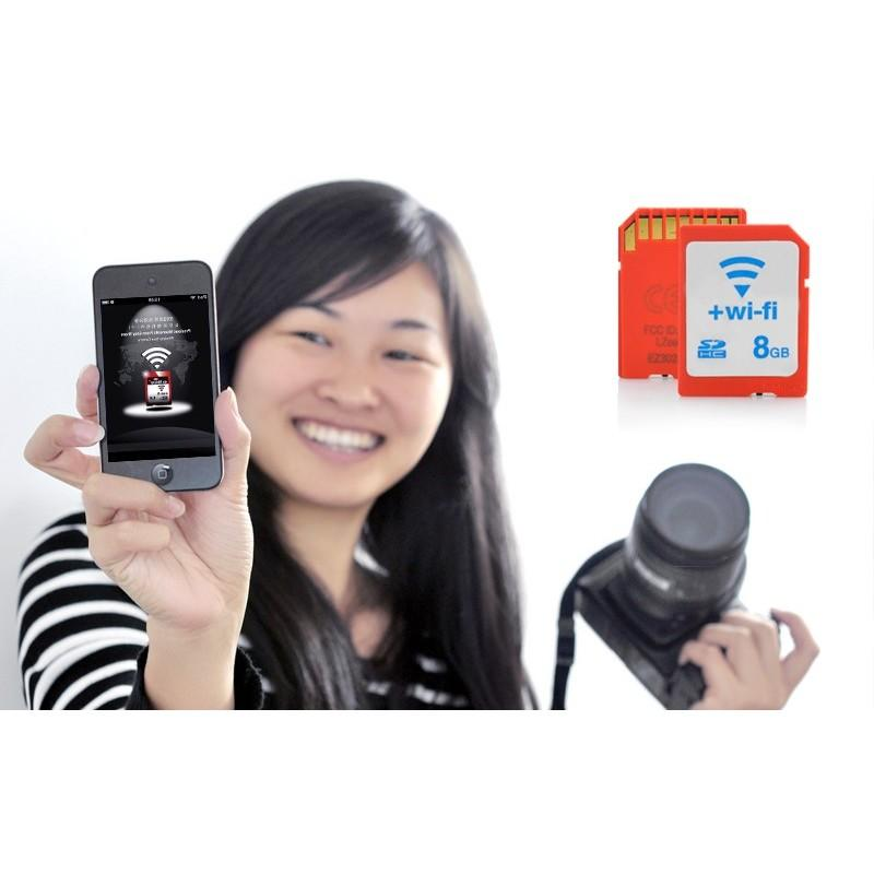 Wi-Fi карта памяти SD 8 GB, Eye-Fi 190473