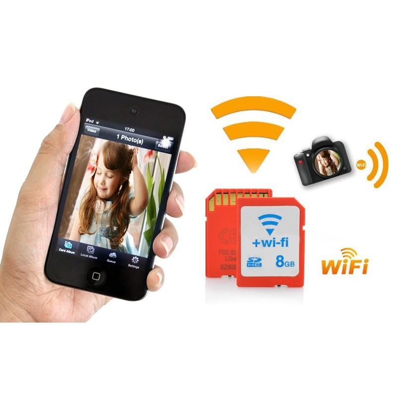 Wi-Fi карта памяти SD 8 GB, Eye-Fi 190474