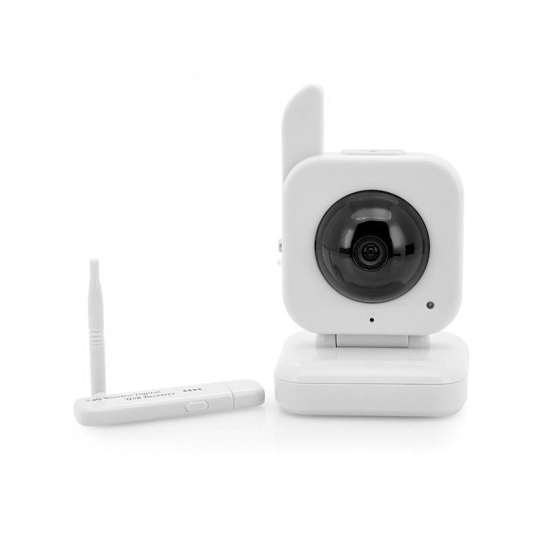 USB радио камера наблюдения H153 (5м ночное виденье, работает и БЕЗ интернета, доступ со смартфона) 190516