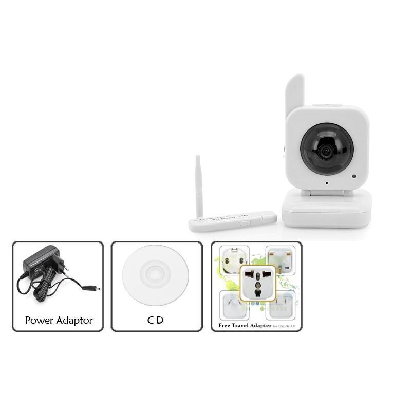 USB радио камера наблюдения H153 (5м ночное виденье, работает и БЕЗ интернета, доступ со смартфона) 190519