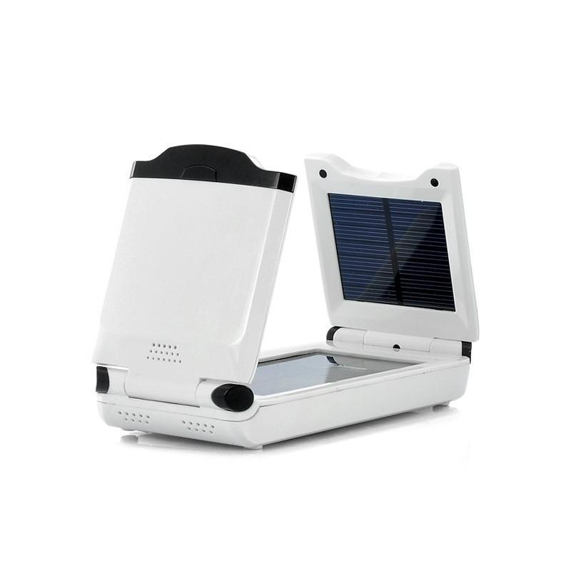 Универсальная солнечная зарядка/внешний аккумулятор на 12 000 мАч SolarJet S76 (11.1V,16V,19V,24V + USB 5.5V) 190531