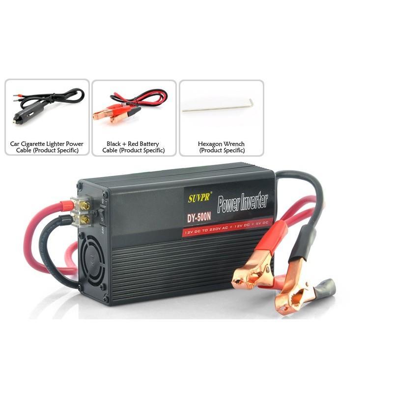 Автомобильный инвертор A266 500W 190539