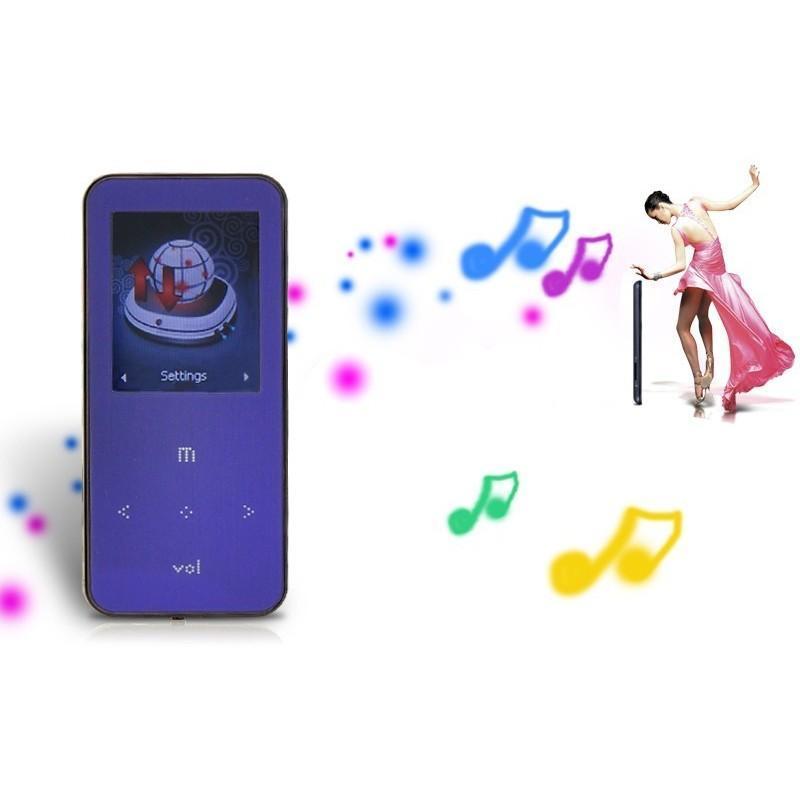 "Lossless плеер (плеер для несжатого звука) O.N.N. ""Light purple"" -Q9 (ЖК-экран, диктофон, FM-радио, поддержка Micro SD)"