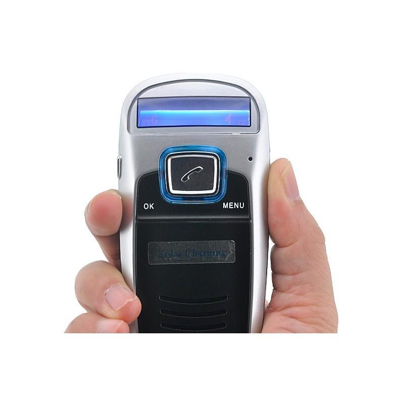 Автомобильный Bluetooth комплект громкой связи/ FM-передатчик/MP3 с зарядкой от солнца