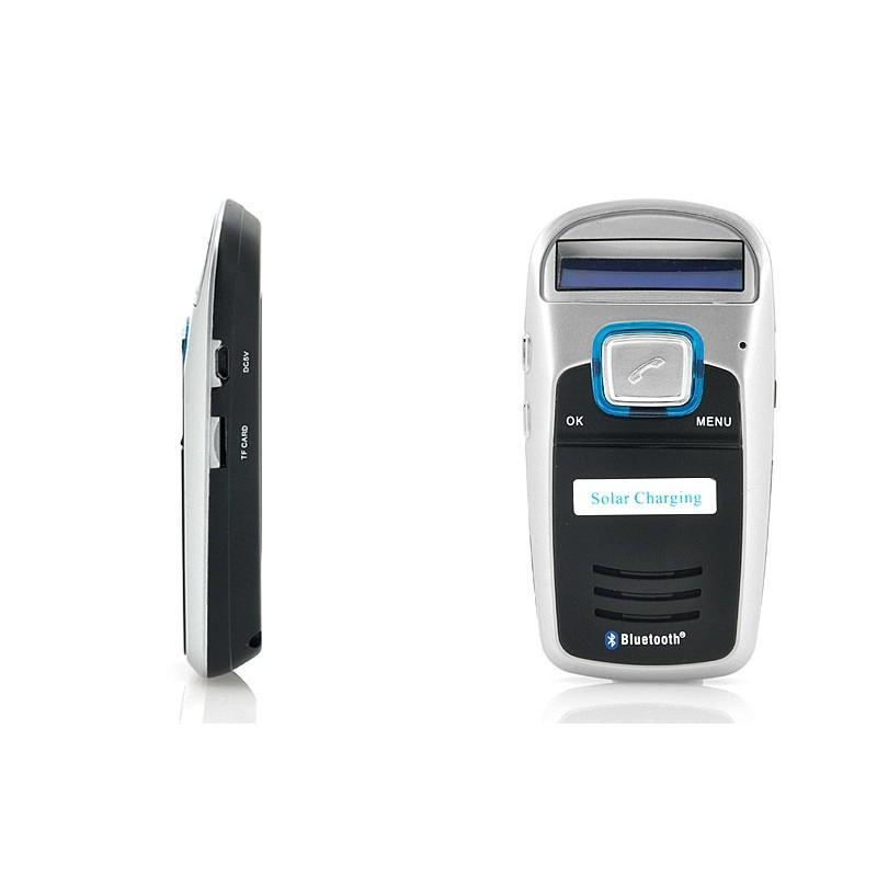 Автомобильный Bluetooth комплект громкой связи/ FM-передатчик/MP3 с зарядкой от солнца 190663