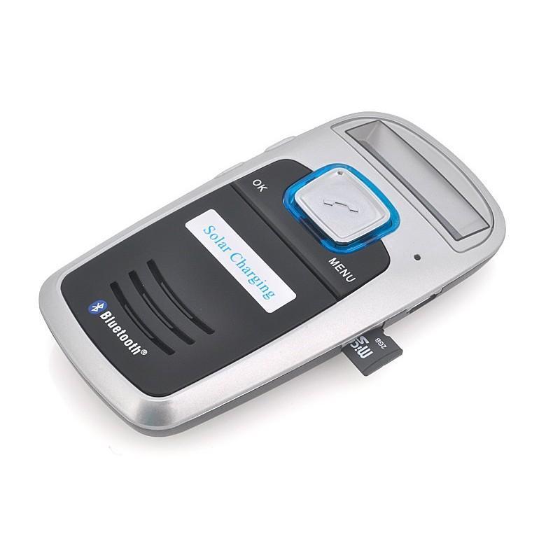 Автомобильный Bluetooth комплект громкой связи/ FM-передатчик/MP3 с зарядкой от солнца 190664