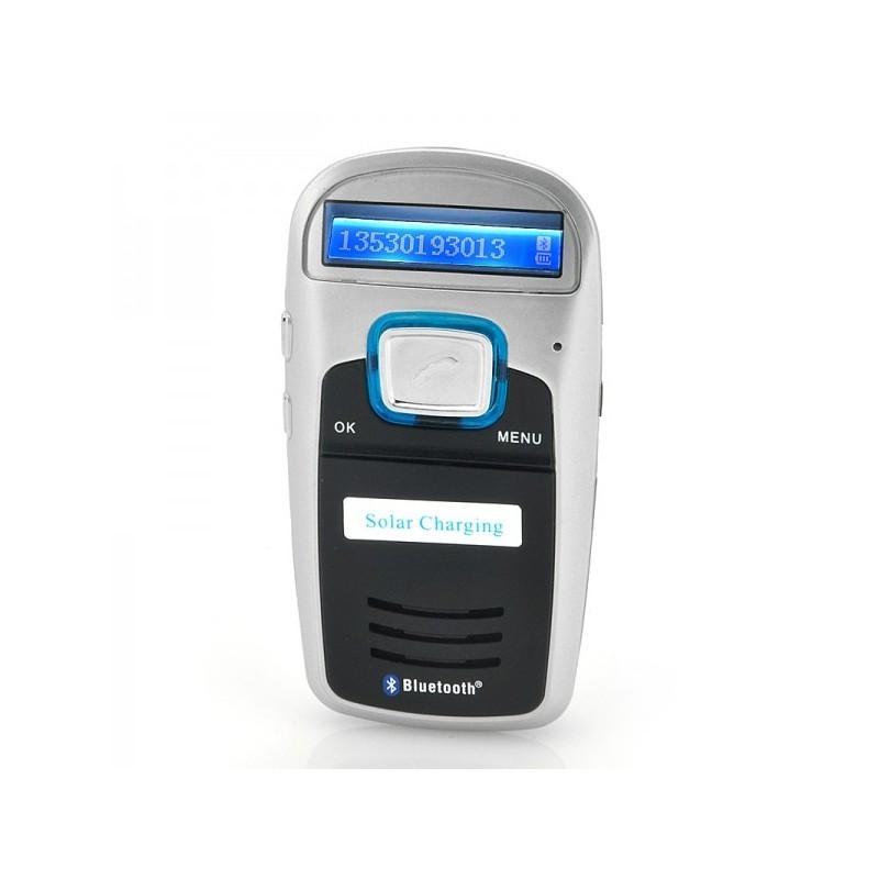 Автомобильный Bluetooth комплект громкой связи/ FM-передатчик/MP3 с зарядкой от солнца 190666