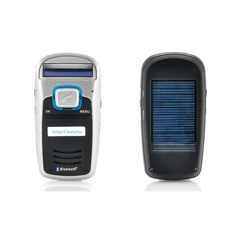 Автомобильный Bluetooth комплект громкой связи/ FM-передатчик/MP3 с зарядкой от солнца 190667