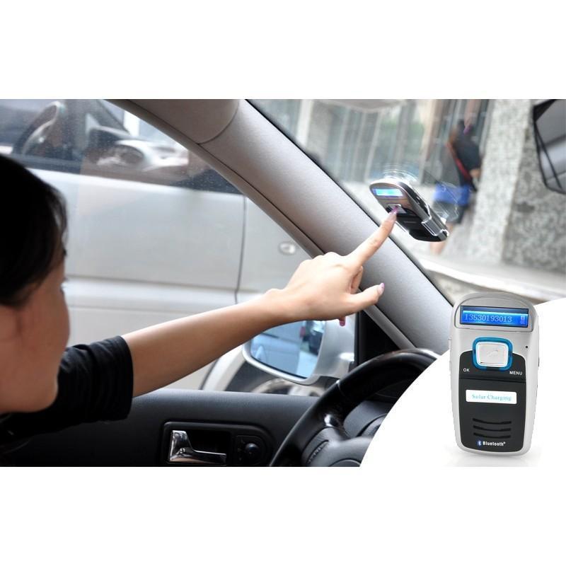 Автомобильный Bluetooth комплект громкой связи/ FM-передатчик/MP3 с зарядкой от солнца 190671