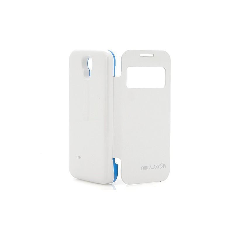 Внешняя батарея/чехол-книжка с защитой экрана для Samsung Galaxy S4 190705