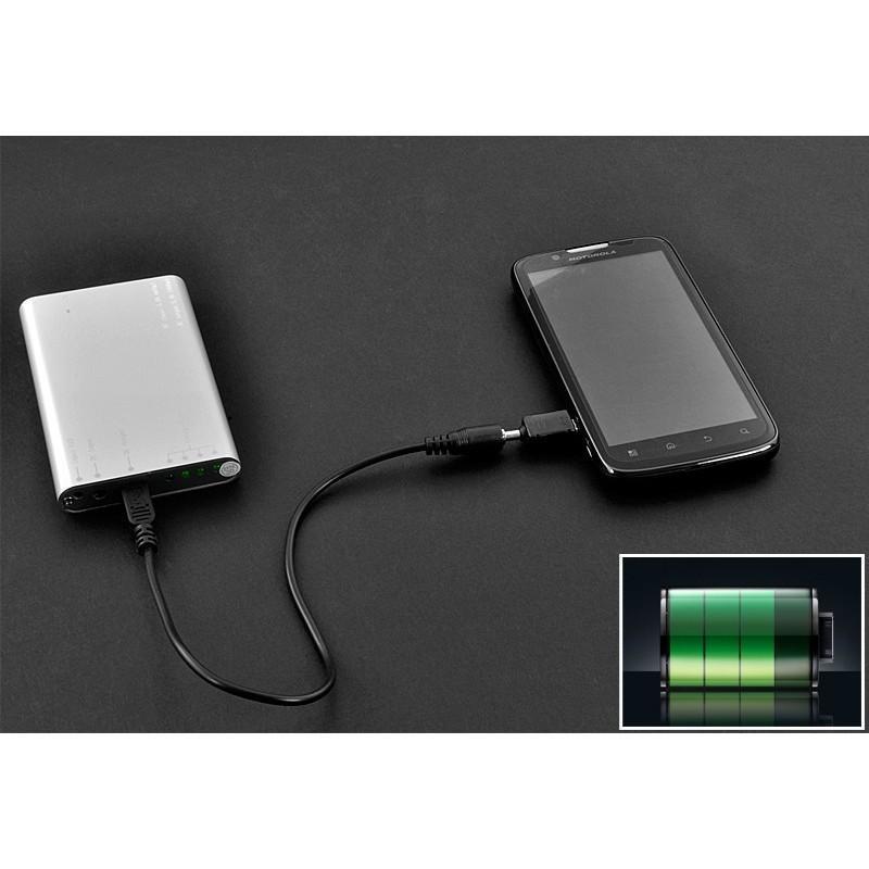 Маленькая раскладная солнечная зарядка + алюминиевый аккумулятор на 4000 мАч SolarJet S52 (micro USB,mini USB,USB,Nokia,Samsung) 190729