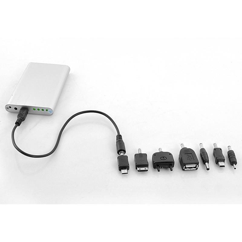 Маленькая раскладная солнечная зарядка + алюминиевый аккумулятор на 4000 мАч SolarJet S52 (micro USB,mini USB,USB,Nokia,Samsung) 190735