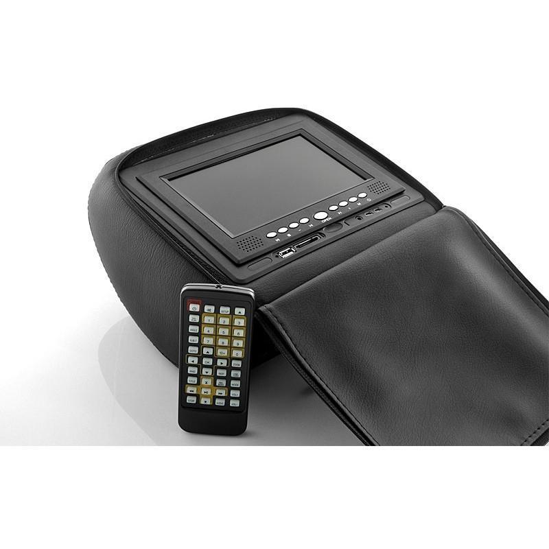 Пара автомобильных 7-дюймовых мониторов в подголовник – DVD, игровые приставки, мультимедийные комбайны 190736