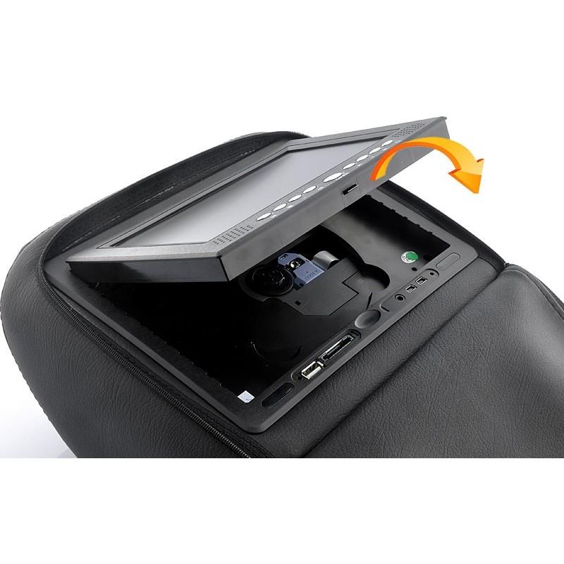 Пара автомобильных 7-дюймовых мониторов в подголовник – DVD, игровые приставки, мультимедийные комбайны 190737