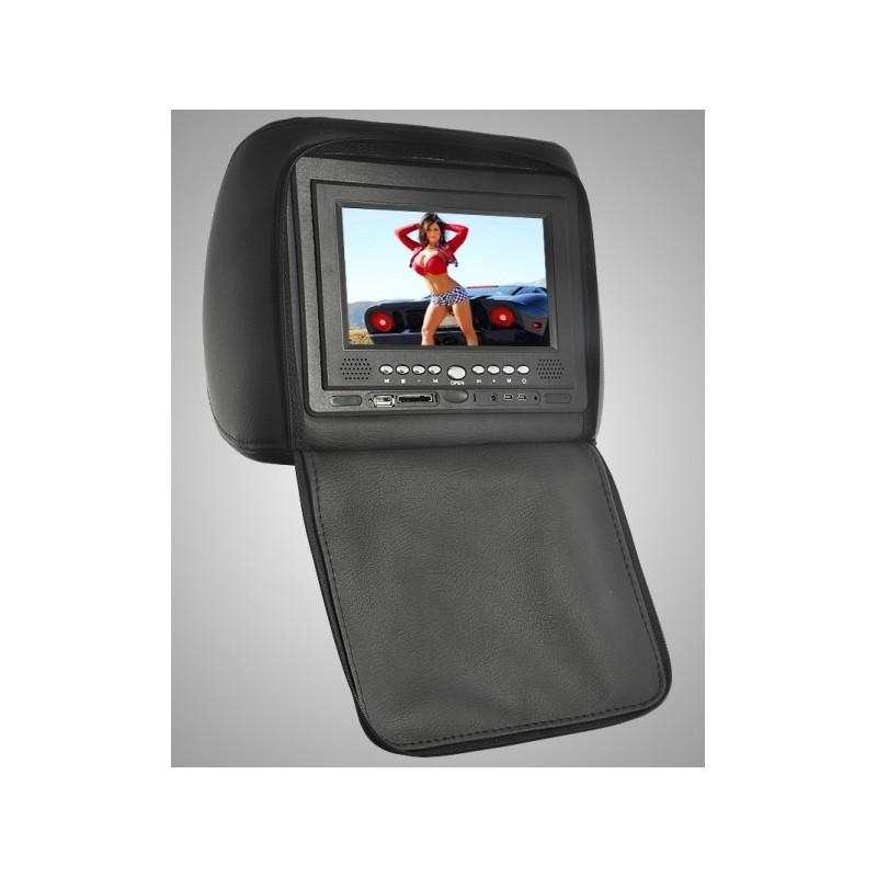 Пара автомобильных 7-дюймовых мониторов в подголовник – DVD, игровые приставки, мультимедийные комбайны 190744