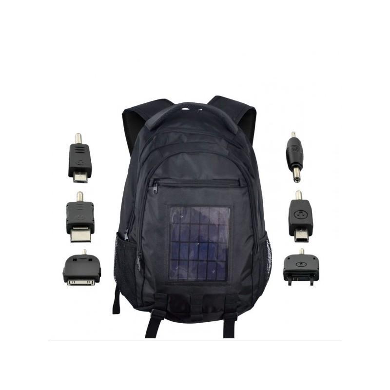 Рюкзак с солнечной батареей + аккумулятор 2200 мАч SolarBag S53 190763