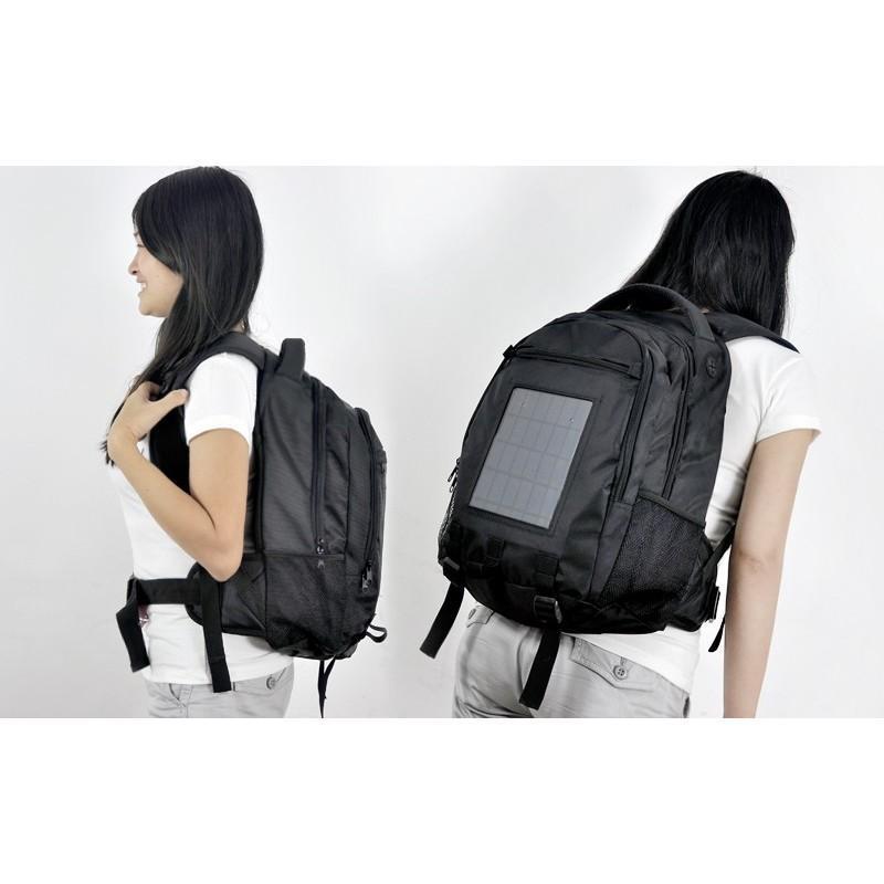 Рюкзак с солнечной батареей + аккумулятор 2200 мАч SolarBag S53 190766