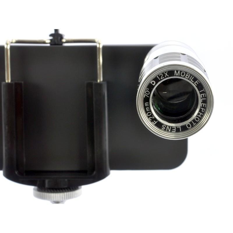 Телескопический объектив для iPhone 5 (12х оптический зум) + портативный штатив A187 190786