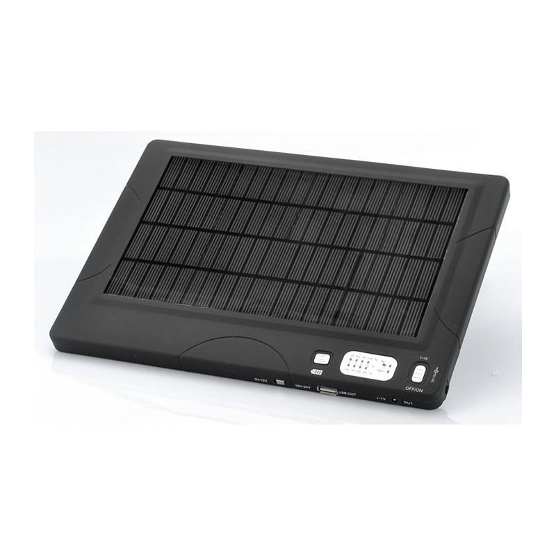 """Универсальная солнечная зарядка/внешний аккумулятор на 20,000 мАч """"SolarJet S24"""" 190801"""