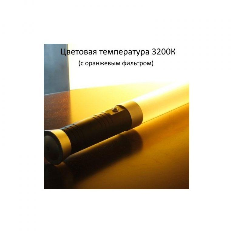 945 - Портативный светодиодный линейный светильник-туба для съемки LightSaber – 298 светодиодов, дистанционное управление