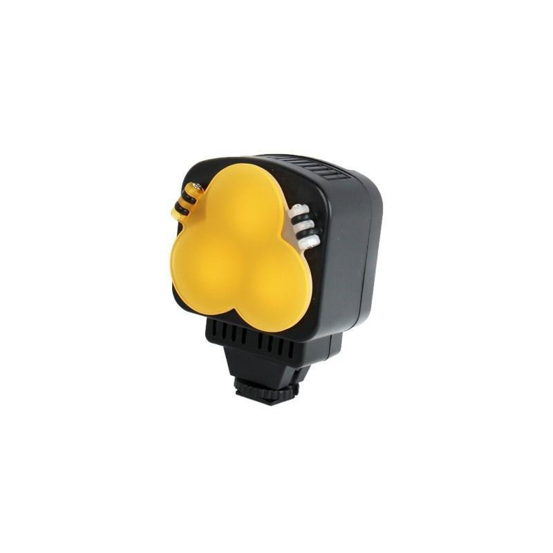 Накамерный LED свет для фотоаппарата и видеокамеры P-1643, 3 LED,  850 люкс 184018