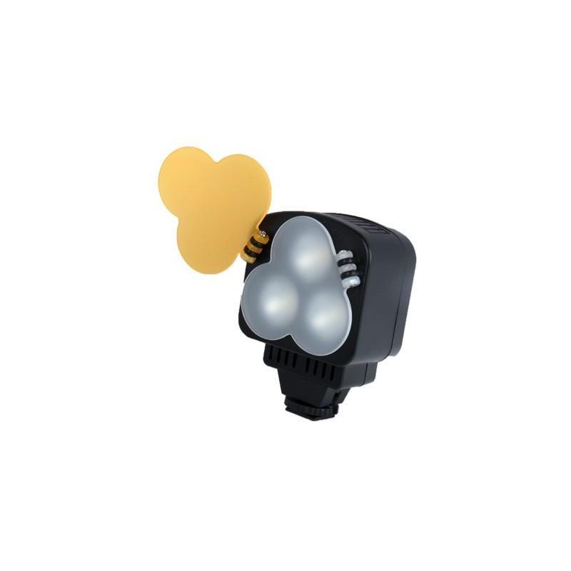 Накамерный LED свет для фотоаппарата и видеокамеры P-1643, 3 LED,  850 люкс 184019