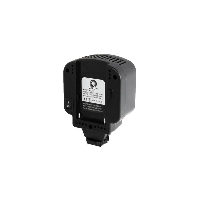 Накамерный LED свет для фотоаппарата и видеокамеры P-1643, 3 LED,  850 люкс 184020