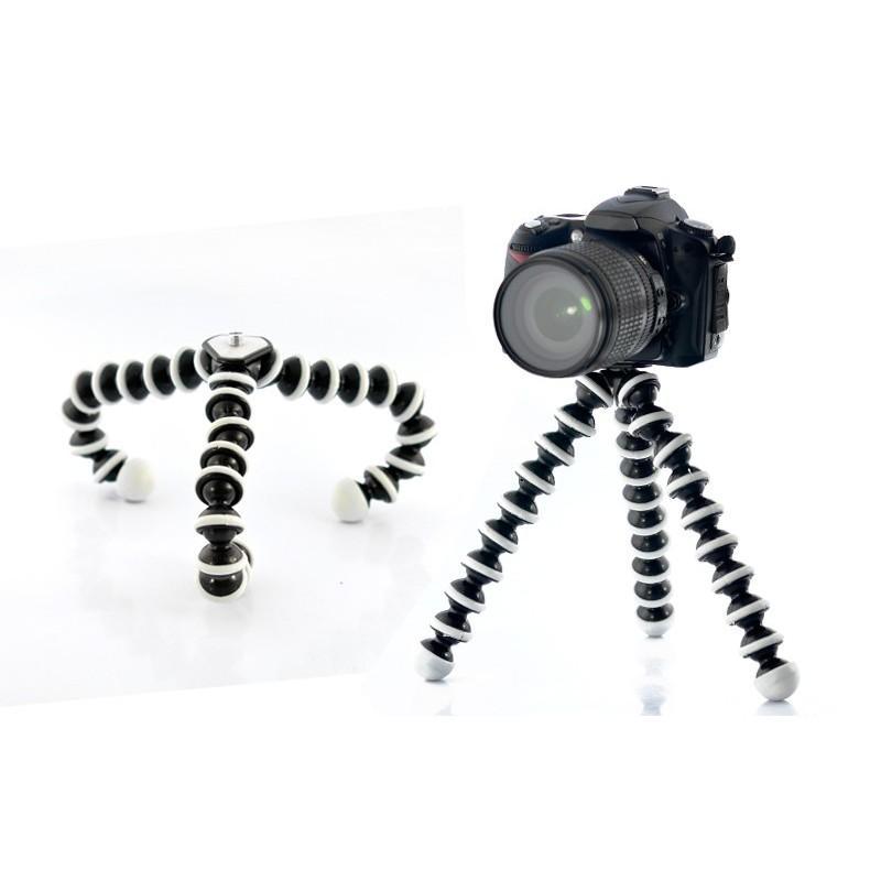 Гибкий прочный портативный штатив для фото и видокамеры A-0109 – нагрузка до 3 кг