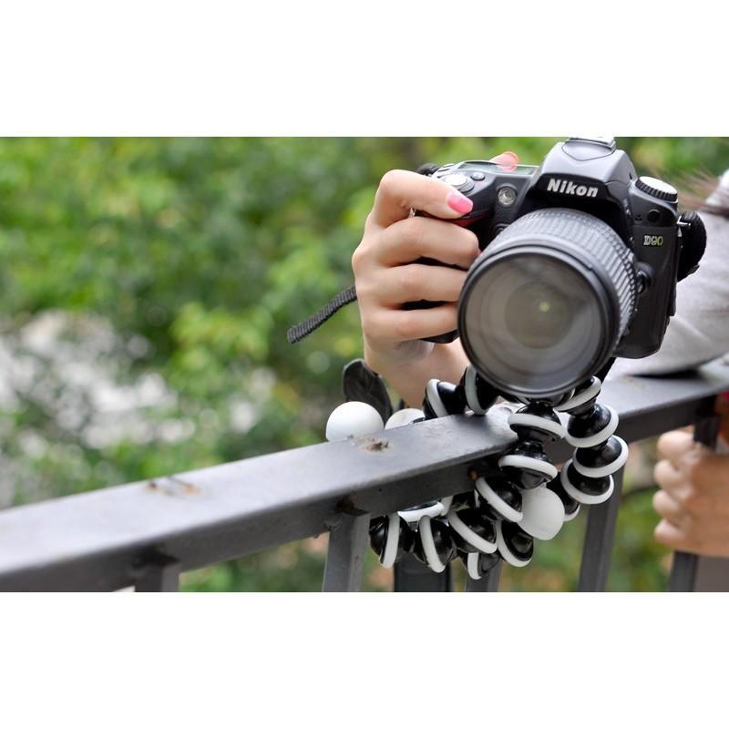 Гибкий прочный портативный штатив для фото и видокамеры A-0109 – нагрузка до 3 кг 191037