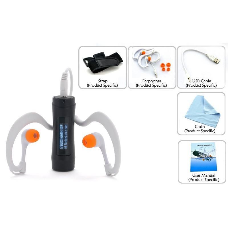Водонепроницаемый (подводный) MP3-плеер Nemo N30 (OLED-экран), 4Гб 191167