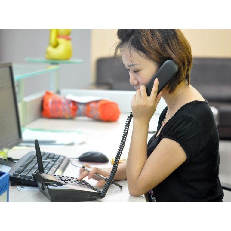 9834 - Стационарный cотовый GSM телефон