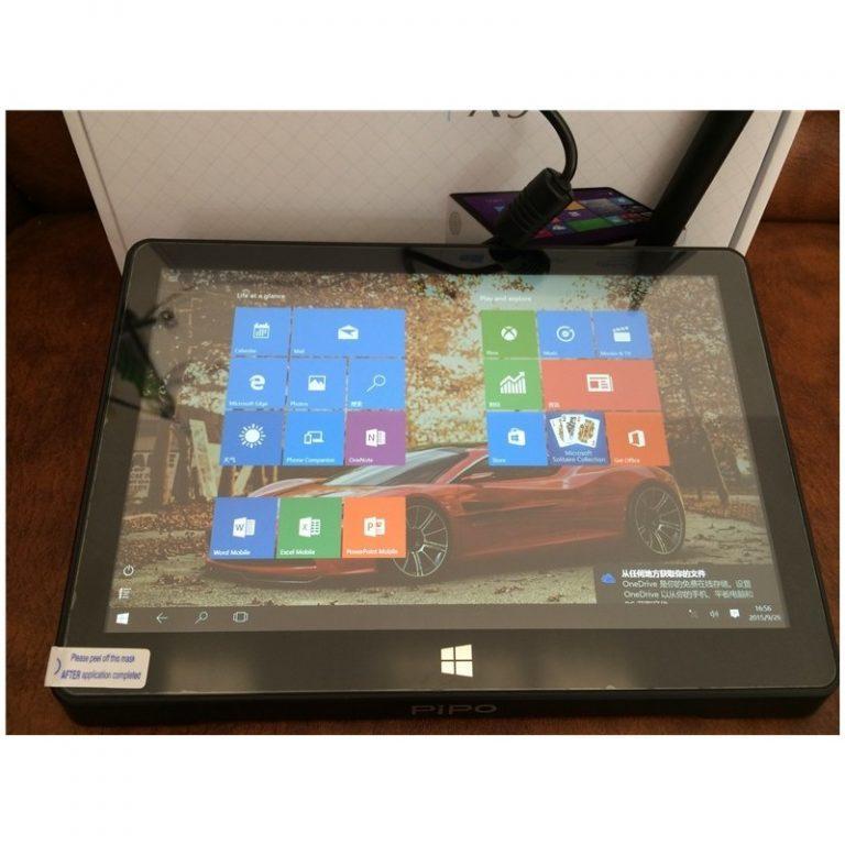 984 - Мини-компьютер PiPo X9S – дисплей 8.9 дюйма, Windows 10 + Android 5,1, 2 Гб ОЗУ, 32 Гб, 4x USB, HDMI, OTG