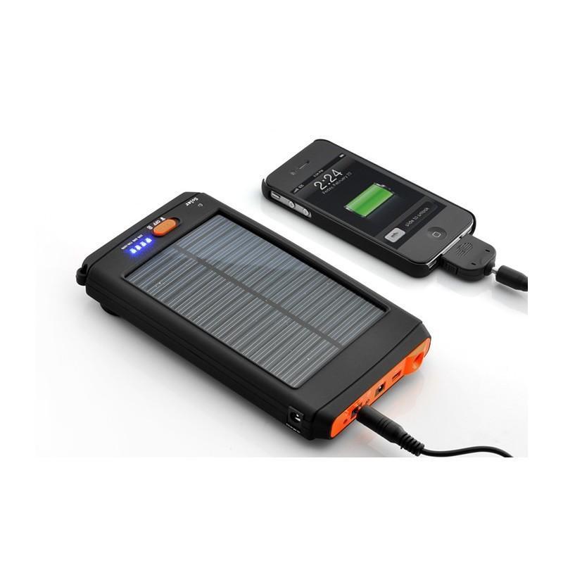 Универсальная солнечная зарядка/внешний аккумулятор на 11 200 мАч SolarJet S30.2 191227
